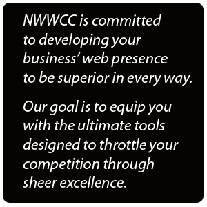 NWWCC began primarily as a web development company