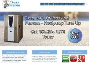 Chase Heating Company Web Site