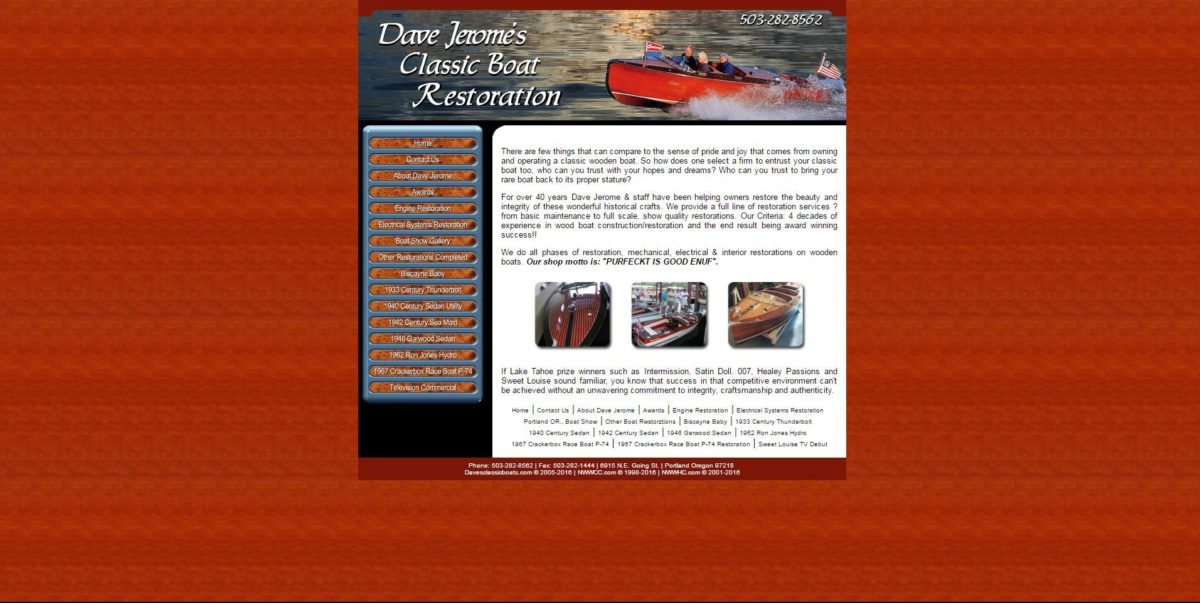 Daves Classic Boats