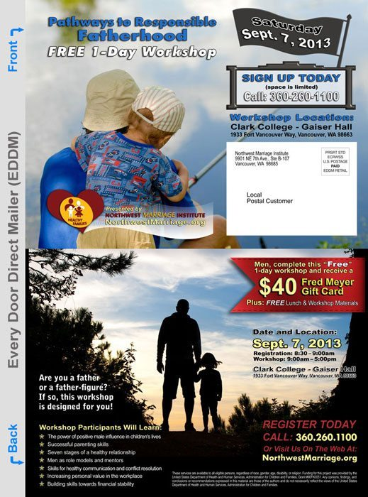 Every Door Direct Mailer Workshop Promotion