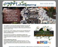 JRS Landscaping Website