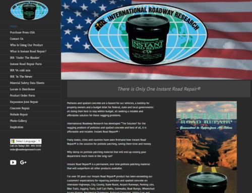 Roadway Research Web Site