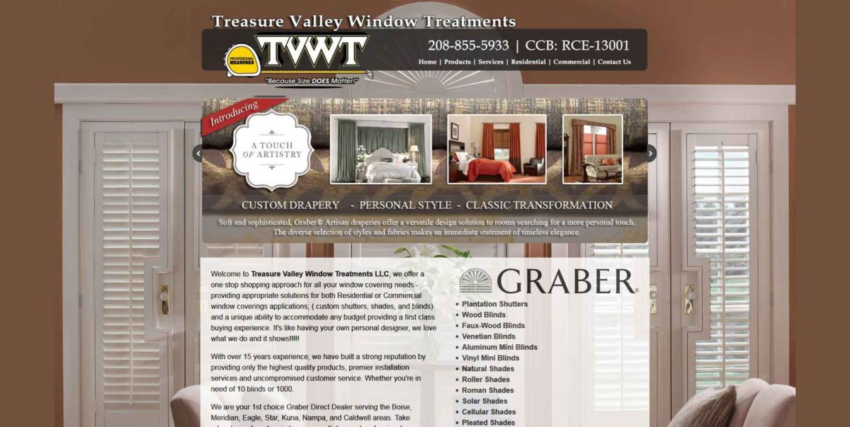 Treasure Valley Window