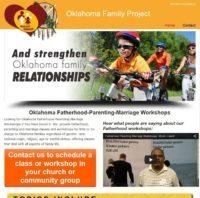 Oklahoma Family Project Web Site