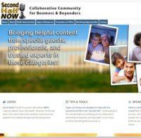 Second Half Now Website